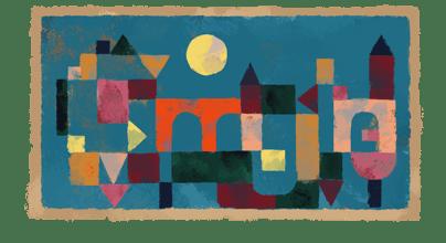 Paul Klee , Kỉ niệm 139 năm ngày sinh của Paul Klee Google Doodle