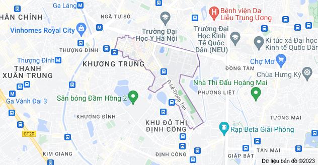 Bản đồ của Khương Mai, Thanh Xuân, Hà Nội