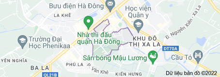 Bản đồ của Hà Cầu