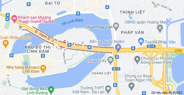Bản đồ của Hoàng Liệt, Hoàng Mai, Hà Nội
