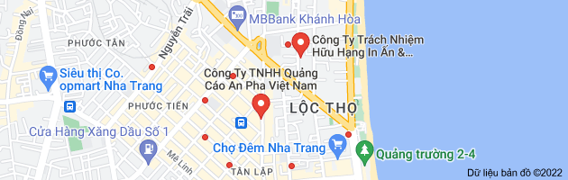 Bản đồ của quảng cáo
