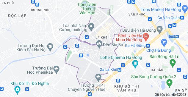 Bản đồ của La Khê, Hà Đông, Hà Nội