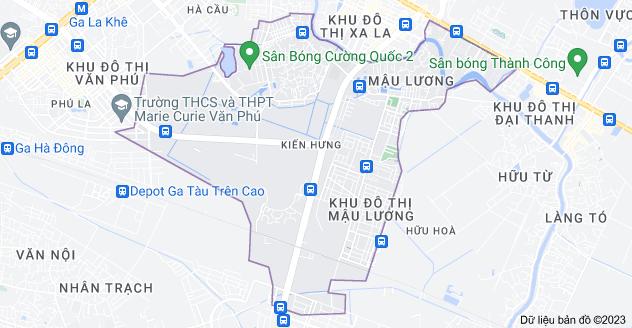 Bản đồ của Kiến Hưng, Hà Đông, Hà Nội
