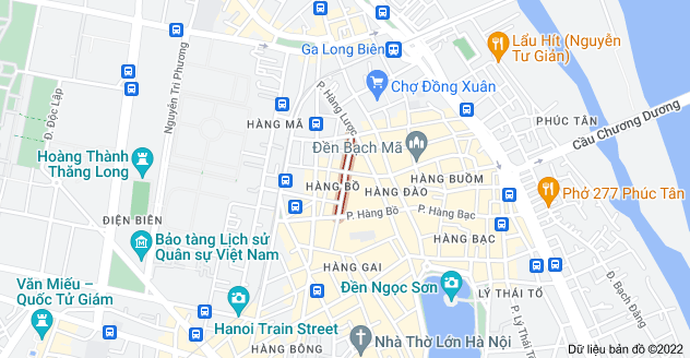 Bản đồ của Thuốc Bắc, Hàng Bồ, Hoàn Kiếm, Hà Nội