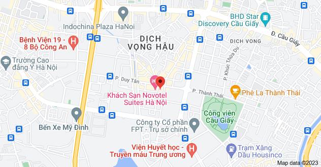 Map of 9 Phố Duy Tân, Dịch Vọng, Cầu Giấy, Hà Nội