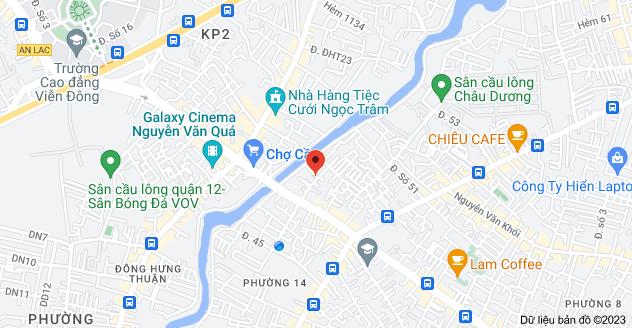Bản đồ của 22 Đường số 46, phường 14, Gò Vấp, Hồ Chí Minh