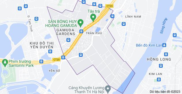 Bản đồ của Trần Phú, Hoàng Mai, Hà Nội